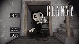 WHAT IF GRANNY WAS BENDY? | Granny (Horror Game)