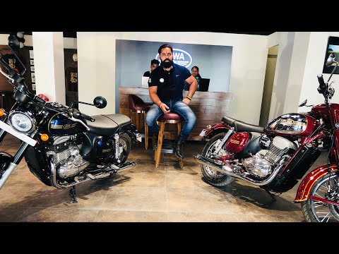 JAWA FORTY TWO AND CLASSIC || Specification And Price || Prayagraj ||