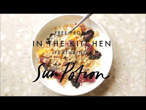 Astragalus Almond Crumble Recipe ft. Sun Potion | In the Kitchen | Free People