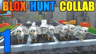 [ROBLOX: Blox Hunt] - Massive Collab Lets Play Ep 1 - Zapping Turkies! (PC,4k)