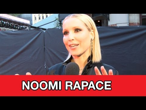 Noomi Rapace Interview - The Drop, Prometheus 2 & Unlocked