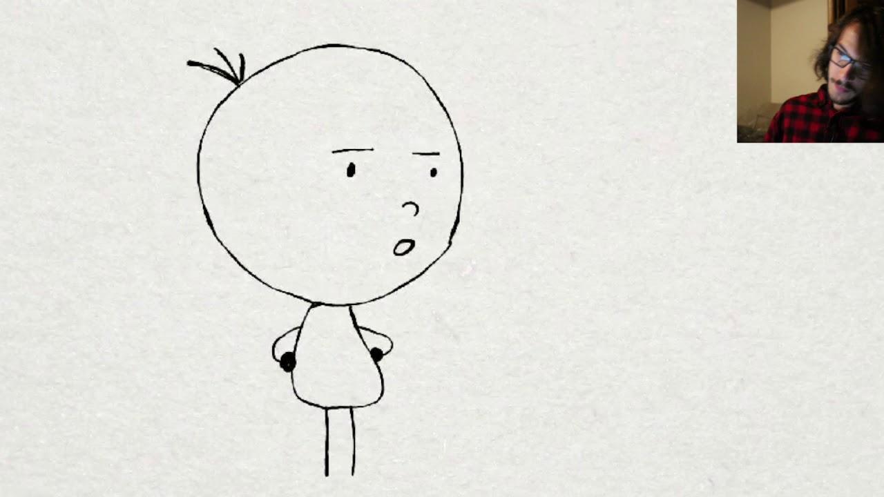 Line Art Effect Photo : 2d animation tutorial line boil youtube