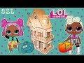 БОЛЬШОЙ ДОМ для Кукол ЛОЛ Сюрприз Играем Видео для Девочек Смешные Игры LOL Dolls House mp3