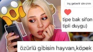 INSTAGRAM DM'LERİMİ OKUYORUM !!