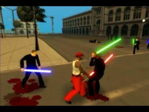 Gta Star Wars - original raw footage.avi