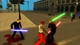 Gta Star Wars - original raw footage.avi