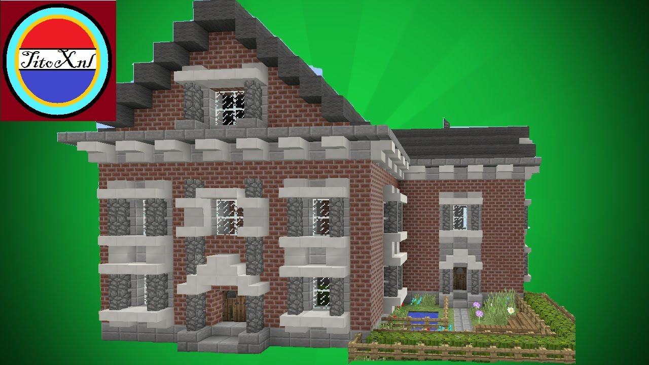 Minecraft een moderne huis maken villa youtube for Huis maken minecraft