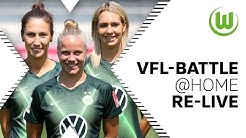VfL-Battle@Home mit Goeßling, Wolter & Doorsoun [Re-Live] | VfL Wolfsburg Frauen