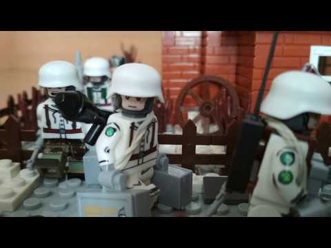 lego ww2 moc. January 1942. Intelligence and sabotage group of the Wehrmacht.