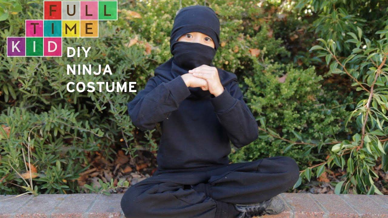 DIY Ninja Costume | Full-Time Kid | PBS Parents & DIY Ninja Costume | Full-Time Kid | PBS Parents - YouTube