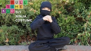 DIY Ninja Costume | Full-Time Kid | PBS Parents