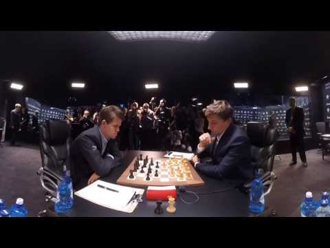 360 VIDEO — Day 2, World Chess Championship 2016
