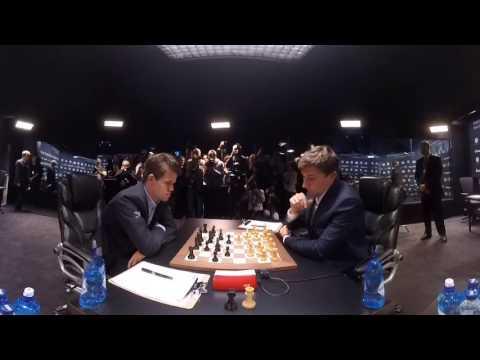 360 VIDEO — Day 2, World Chess Championship 2016