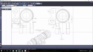 Компас-3D. Векторизация PDF
