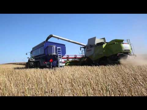 Grain Saver Carts 2015 action
