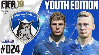 Fifa 19 Career Mode  - Youth Edition - Oldham Athletic - Season 2 EP 24