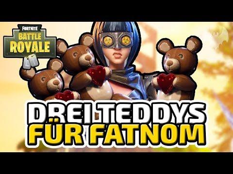 """Drei Teddys für """"fatn0m"""" - ♠ Fortnite Battle Royale ♠ - Deutsch German - Dhalucard"""