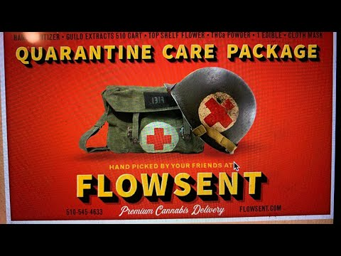 Oakland Cannabis Delivery: Flowsent Has Quarantine Care Package For Thos...