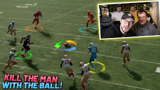 NEW KILL THE MAN WITH THE BALL IN MADDEN 20!!