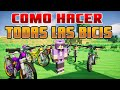 COMO HACER TODAS LAS BICICLETAS EN PIXELMON GENERATIONS   PIXELMON ESPADA MINECRAFT POKEMON MOD