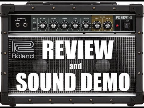 GUITAR TONE - Roland JC22 - Review & Sound Demo