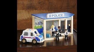 Auto della polizia | auto per i bambini | autolavaggio | Police Car For Kids | Car Wash Videos