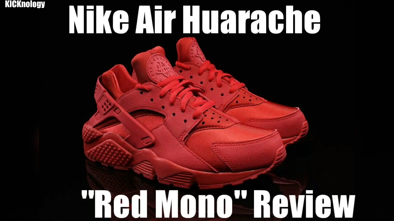 517db3f5e7a0e6 ... netherlands nike air huarache red mono foot locker launch pickup and  super bowl 51 pick 54df4