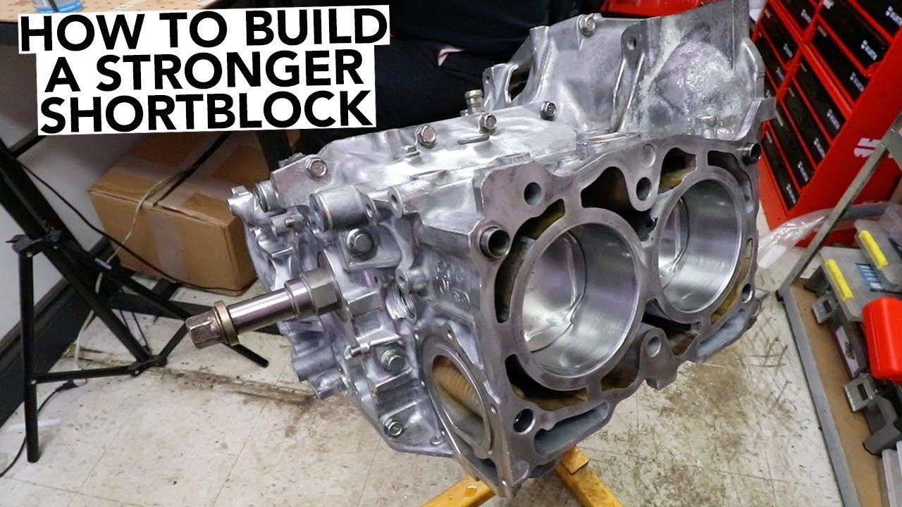 SUBARU Engine Rebuild - Short Block Assembly - Part 2