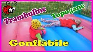 Teren de Joaca cu Topogane,Trambuline Gonflabile☺Loc de Distractie pentru copii♥
