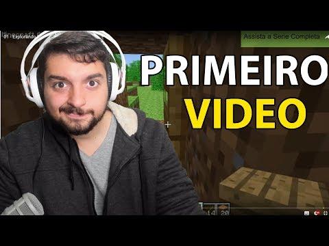 REAGINDO AO MEU PRIMEIRO VIDEO!
