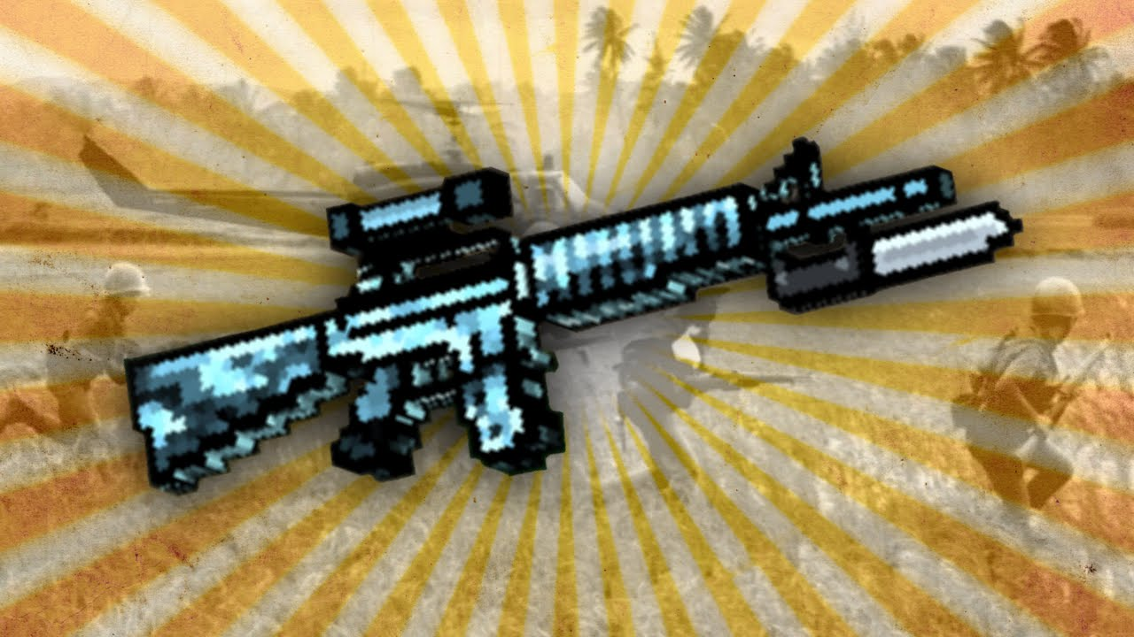 pixel gun 3d combat rifle up2 review youtube