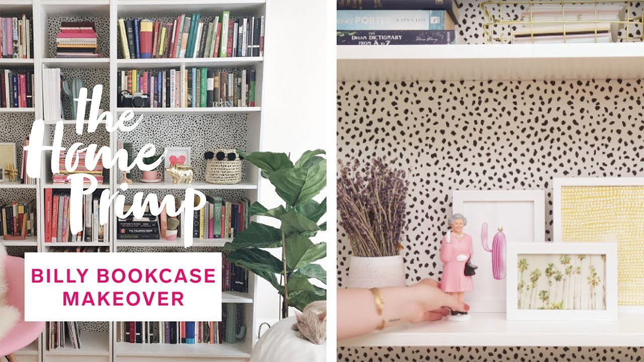 String Regal Ikea How To Hack An Ikea Billy Bookcase For Under 150 Stunning Diy Transformation The Home Primp