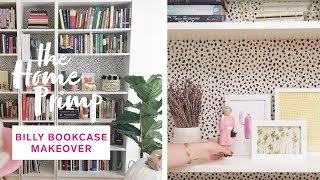 How To Hack An IKEA Billy Bookcase For Under $150 | Stunning DIY Transformation | The Home Primp
