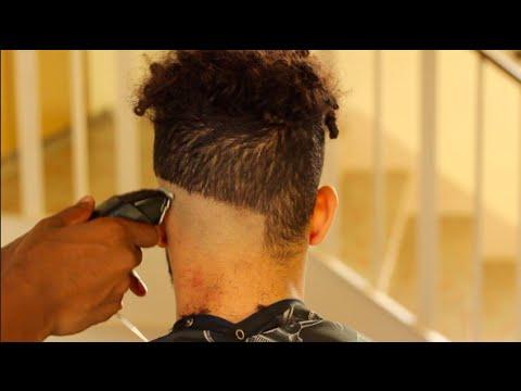 Mid Skin Fade | Medium Bald Fade | Curly Disconnected Undercut