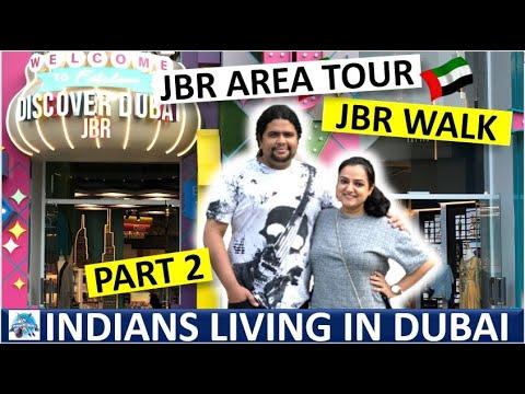 JBR – Jumeirah Beach Residence Walk in Tourist Season December 2020 – PART 2 | #JBR #Dubai