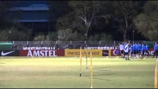 Προπόνηση Εθνικής Ανδρών 13/11/14 | Greece National Team training