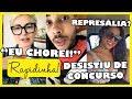 Antonia Fontenelle cutuca Hugo Gloss ao reclamar de represália + Emilly desiste de concurso polêmico