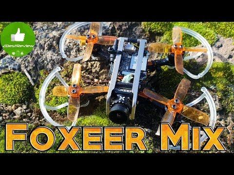 ✔ FPV + HD Камера Foxeer Mix 16:9/4:3 PAL/NTSC 1080p 60fps Установка в Diatone R249!