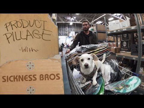 Product Pillage: Sickness Brothers Raid the Warehouse | Independent Trucks