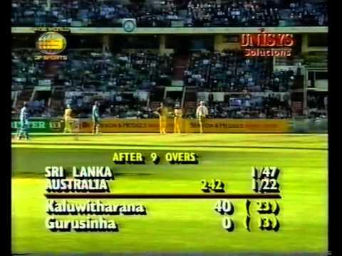 Romesh Kaluwitharana 74 vs Australia MCG 1995/96
