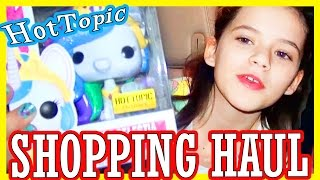 HOT TOPIC ADVENTURE!  SHOPPING HAUL!  DISNEY FROZEN FUNKO POP, MY LITTLE PONY & MORE! | KITTIESMAMA