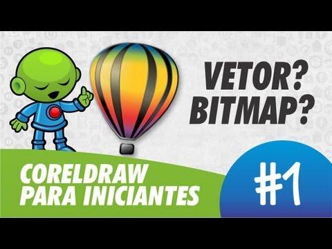 Vetor e Bitmap // CorelDRAW® para Iniciantes #1