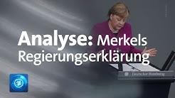 Georg Mascolo zu Angela Merkels Regierungserklärung in der Coronakrise