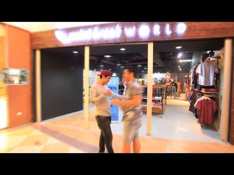 Opening Point Break World dan Quiksilver Mega mall batam centre