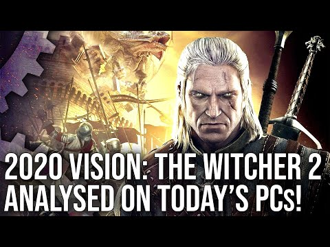 The Witcher 2 in 2020 Tech Review: RED Engine Analysis + Performance On Modern PC Hardware!