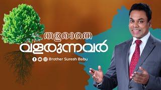 തളരാതെ വളരുന്നവർ - Bible Study Online service | Br Suresh Babu | Malayalam Christian Messages
