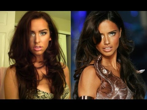 Adriana Lima Makeup Tutorial