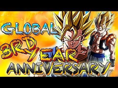 WHEN IS GLOBAL'S 3RD YEAR ANNIVERSARY?! | EVERYTHING TO COME | Dokkan Battle