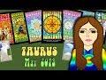 TAURUS MAY 2018 B-day! Uranus in your sign!  Tarot psychic reading forecast predictions