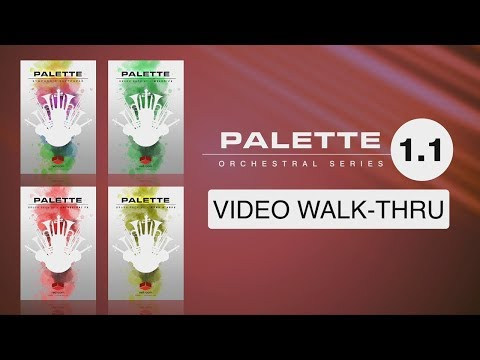 WHAT'S NEW in the v.1.1 Update of the Palette Orchestral Series (Red Room Audio)
